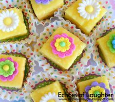 Echoes of Laughter: Easter Petit Fours