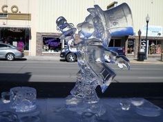 Mad Hatters Tea Party Ice Sculpture January 2014 Southern Colorado