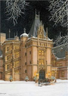 Beautiful paintings of Biltmore Estate :)