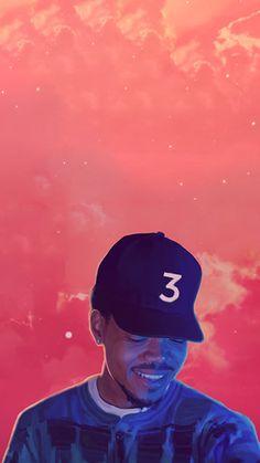 chance the rapper coloring book chance 3 album Arte Do Hip Hop, Hip Hop Art, Chance The Rapper Wallpaper, Coloring Book Chance, Chance The Rapper Quotes, Rapper Wallpaper Iphone, Dope Wallpapers, Iphone Wallpapers, Hypebeast Wallpaper
