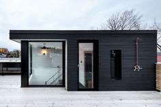 esplanade black house with rooftop terrace