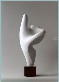 "PIROUETTE by Editt Davidovici is another great example of Asymmetrical Balance in art. This 1999 marble statue is currently on exhibition at ""Open One"" Gallery outdoor sculpture park, Pietrasanta, Italy. http://edittdavidovici.artspan.com"