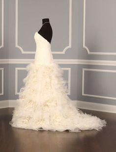 Amsale Blue Label Wedding Dress