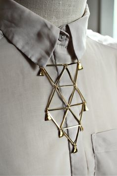 Tumbling Triangles Necklace by mooreaseal