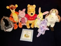 Click or paste link below into browser to view Winnie the pooh plush Disney set.