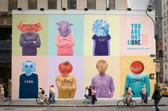 You Are Not Al(one) on Behance Design Campaign, Brand Campaign, Interactive Installation, Interactive Design, Hoarding Design, Startup Branding, Collateral Design, Campaign Posters, Social Media Ad