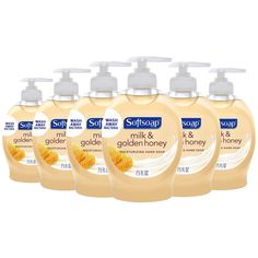 Softsoap Liquid Hand Soap, Milk and Honey - fluid ounce (Pack of Health Care Agencies, Soap Packing, Golden Honey, Hand Hygiene, Liquid Hand Soap, Milk And Honey, The Fresh, Biodegradable Products, Wedding Hairstyles