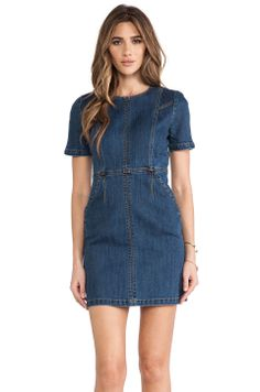 ed06b49d9e Shop for RACHEL ZOE Callie Denim Dress in Medium Indigo at REVOLVE. Free day  shipping and returns