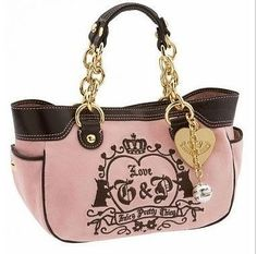 Juicy Couture purse, babes is getting me one ^__^ to add to my collection of purses