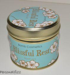Bomb Cosmetics tin kaars blissful rest