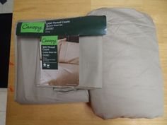 SHEET SET. KING SIZE.CLAY BEIGE COLOR 3 PIECE.300 THREAD COUNT.CANOPY. NEW