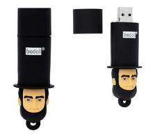Lincoln USB Stick More pins under www.supondo.com