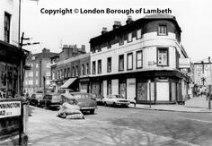 Windmill Row, Kennington 1970