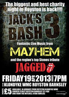 Poster for Jacks Bash