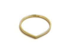 gold ring no.6 | recycled 14k gold | handmade in nyc