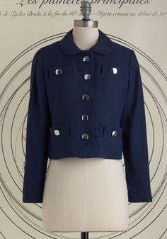 Vintage London Wandering Jacket.  #gold #prom #modcloth