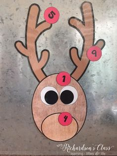 Pin the Nose on Rudolph Game FREEBIE