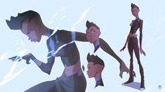 Teenage daughter of Static Shock that befriends Terry after Static goes missing. She takes on her fathers name until he's found. Batman Beyond: Statik Nightwing, Batgirl, Black Lightning Static Shock, Character Art, Character Design, Character Sheet, Character Outfits, Sweet Drawings, Batman Comics