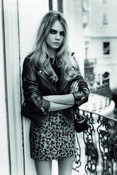 Cara Delevigne and her cool-girl look