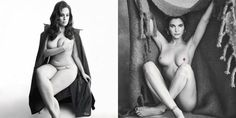 Ashley Graham, Emily Ratajkowski, and More Pose Nude for 'Love' Magazine