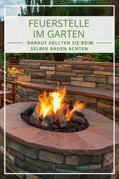 GroBartig Feuerstelle Im Garten U2013 Tipps Zum Feuerstelle Selberbauen