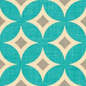 Diamond Circles by Holli Zollinger on Spoonflower