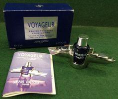 JEAN PATOU VOYAGEUR EAU DE TOILETTE 5ML MINIATURE BOTTLE & ITS SHIP - BOXED NEW
