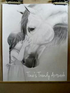 A childs love for her horse - via @Craftsy