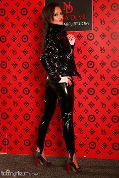 Pvc Raincoat, Pvc Vinyl, Unisex, Thigh High Boots, Thigh Highs, Mantel, Leather Pants, Party Dress, Vinyls