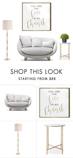"""""""Living room idea"""" by alihorin on Polyvore featuring interior, interiors, interior design, home, home decor, interior decorating, Moooi, Oliver Gal Artist Co., Arteriors and Threshold"""