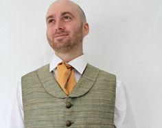 The Brandybuck - Custom Men's Hobbit Costume Collared Waistcoat