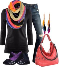 """""""LoveColor"""" by lagu on Polyvore"""