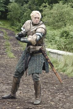 "Gwendoline Christie as Brienne of Tarth in ""Game of Thrones."" (HBO)"