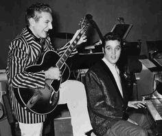 Elvis & Liberace 1950s