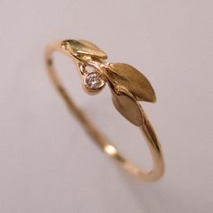 Hey, I found this really awesome Etsy listing at https://www.etsy.com/listing/212834691/leaves-diamond-ring-no-1-14k-rose-gold