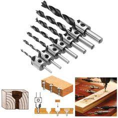 50 xTitanium Coated High Speed Steel HSS Perceuse Twist Bit Set Outil 1//1.5//2//2.5//3mm