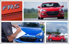 2012 Compact Performance Car Track Comparison Test
