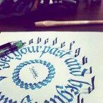 New 3D Calligraphy Experiments by Tolga Girgin