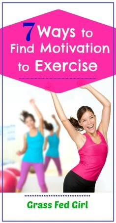 7 Ways to Find Motivation to Exercise