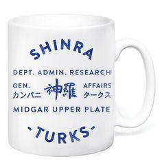 Shinra Turks Mug by GameTee (£7.99) #FinalFantasy