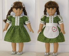 Holly 18 inch Doll Dress - Machine Embroidery Designs for 5x7 Hoop - PES, HUS or DST. $12.49, via Etsy.