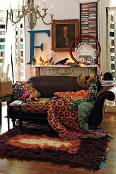 Bohemian Chic Living Rooms-21-1 Kindesign