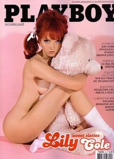 Lily Cole is a cutie Miss Cole's pictures from French Playboy October 2008