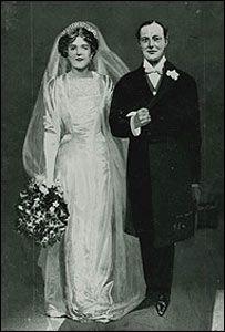 WINSTON L. S. CHURCHILL Y CLEMENTINE HOZIER