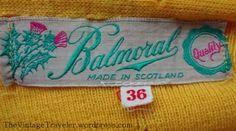 Balmoral Knitwear Ski Themed Vest | The Vintage Traveler
