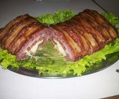 Receita de Rocambole de carne moída com linguiça - Show de Receitas