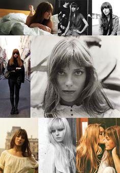Jane Birkin summer hair.