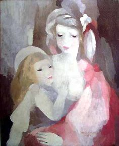 Mother and Child, Marie Laurencin, one of the friends surrounding Picasso during WWI & II in Paris