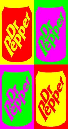Dr. Pepper Pop Art deviantart.net
