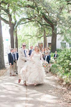 Real wedding in historic downtown Savannah. See more on Savannah Soiree. http://www.savannahsoiree.com/journal/real-wedding-in-historic-downtown-savannah